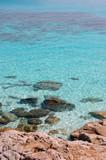 blue lagoon paradise poster