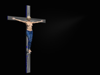 crucifixion, easter, faith.