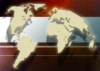worldmap or globus