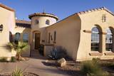 Fototapety luxury desert home