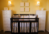 nursery interior design poster