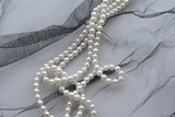 necklace of pearls poster