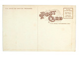 old greeting card from usa poster