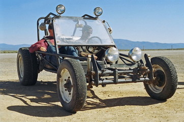 dune buggy - sand rail - parked