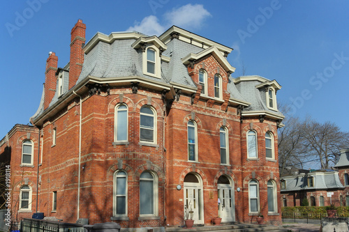 poster of restored victorian house