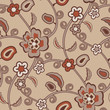 roleta: seamless vintage wallpaper pattern
