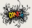 dance - graffiti style