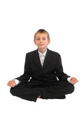 meditaiting kid