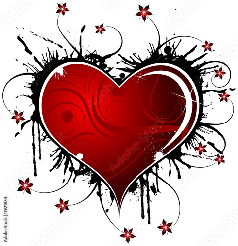 abstract valentines design
