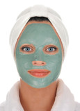 spa mud mask poster