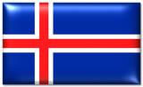 island fahne iceland flag poster