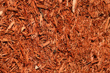 yard mulch background poster