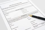 job application form poster