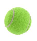 tennis ball on pure white background poster