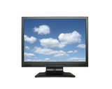 wide lcd with gorgeous sky poster