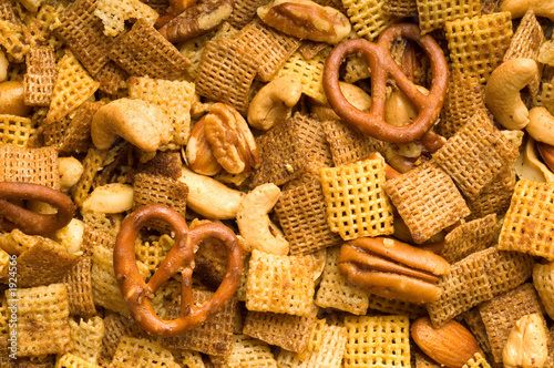 snack mix background
