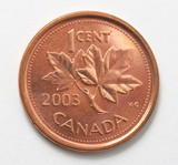 canadian penny poster