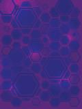 hexa gone flash purple poster