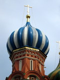 moscow church tower poster