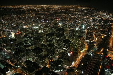panoramic view of toronto