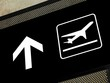 airport signs - departures area
