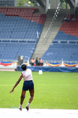 women's javelin throw for disabled persons