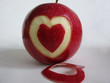 apple in love