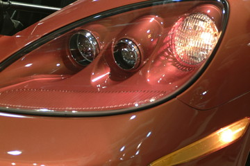 corvette headlight