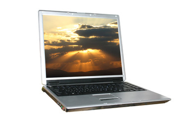 isolatet laptop