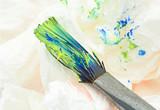 dirty paintbrush poster
