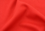 red cotton fabric with crease poster