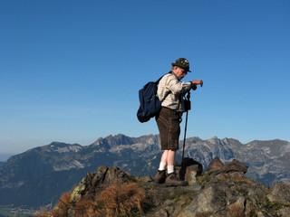hoch auf den berg