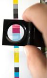 cmyk printing color bar poster