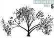 tree silhouette 05