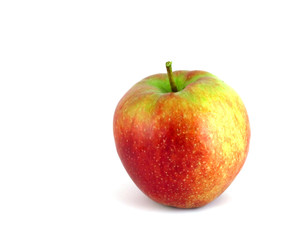 raw red apple