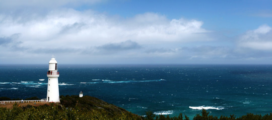 latarnia morska panorama