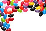 jelly bean border poster