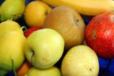 several fresh fruits poster
