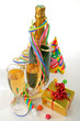 fête du nouvel an champagne
