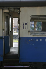 dining car door