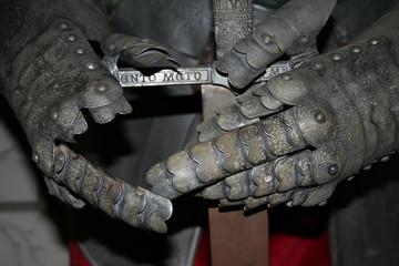 knights hands