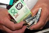 betting money poster