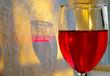 red wine detail