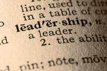the word leadership
