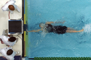 swimming finish 2