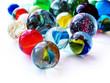 Leinwanddruck Bild - marbles