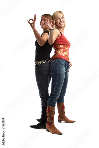 poster of best friends having fun