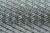 grooved metal surface poster