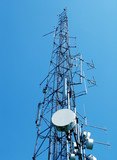 telecommunication tower poster