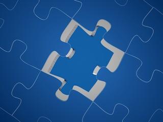 puzzle 3d render